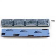 Балансировочные грузики Clipper 0065 Norton 100г самоклеющиеся, 25шт