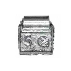 Балансировочные грузики Clipper 5г, 200шт (0205) для стальных дисков