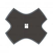Кордовые диагональные пластыри D-25 Rossvik 510 мм (3 шт.)
