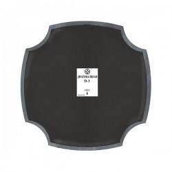 Кордовые диагональные пластыри D-3 Rossvik 100 мм (10 шт.)