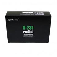 Кордовые радиальные пластыри R-231 Rossvik 110х155 мм (10 шт.)