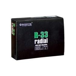 Кордовые радиальные пластыри R-33 Rossvik 100х125 мм (10 шт.)